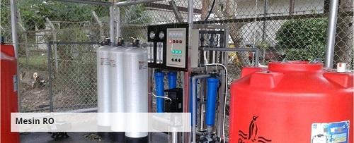 Pabrik Air minum dalam kemasan